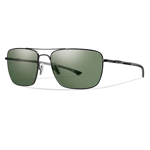 8412fac621 Amazon.com  Smith Sunglasses - Nomad   Frame  Matte Black Lens ...