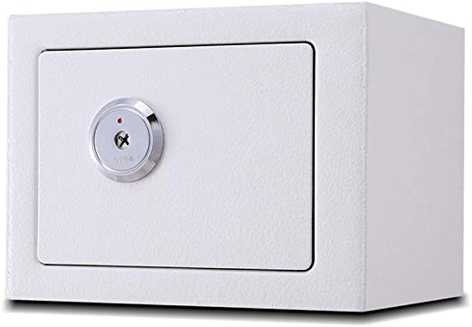 Cajas fuertes Caja de Depósito Simple con Cerradura, Caja de Seguridad Mecánica Caja de Almacenamiento de