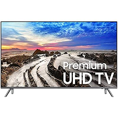 "Samsung 82"" UHD 4K HDR LED Smart HDTV 2017 Model (UN82MU8000FXZA) with 1 Year Extended Warranty & Samsung 4K Ultra HD Blu-ray Player"