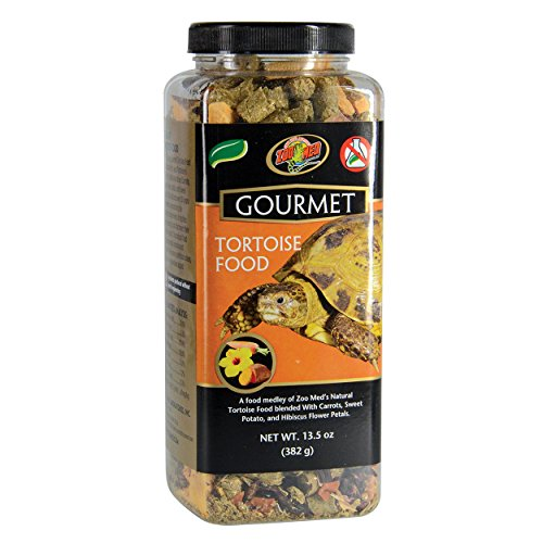 (Zoo Med 5124 Gourmet Tortoise Food, 13.25 oz)