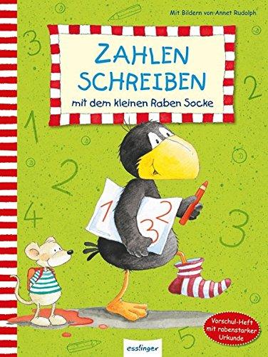 Zahlen schreiben mit dem kleinen Raben Socke (Der kleine Rabe Socke, Band 23354)