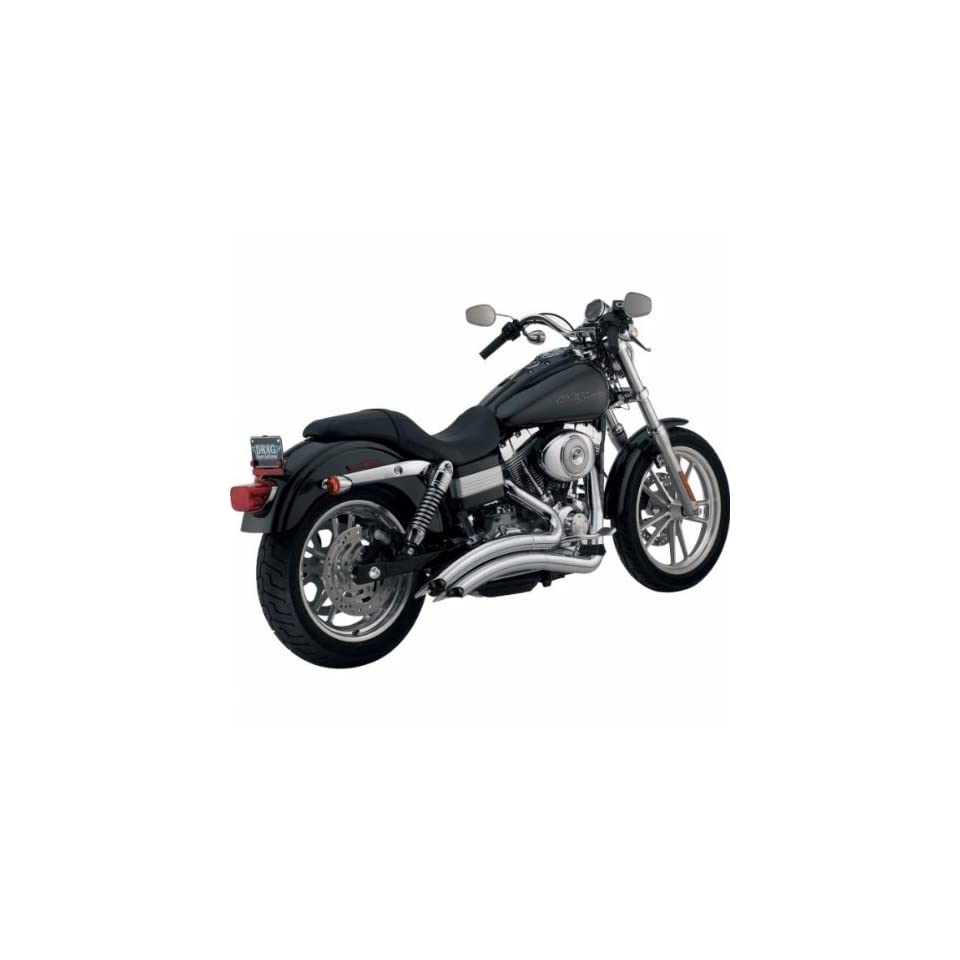 Vance and Hines Big Radius 2 Into 2 Full System Exhaust for Harley Davidson 200   One Size