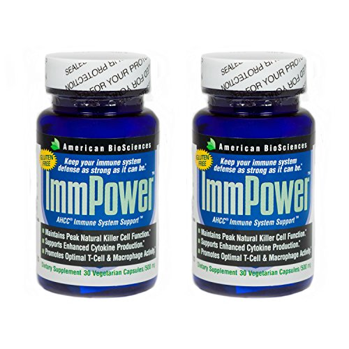 American BioSciences ImmPower AHCC Immune System Support – 30 Vegetarian Capsules (2-Pack) by American Biosciences