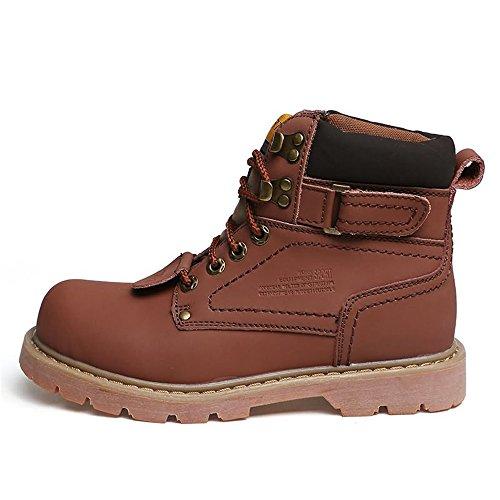 Brown Scarpe Stivali Tinta Sono Casual Cotone Light con e e Unita Casual Stile in Martin Donna da Uomo da Gli Cricket da Td14wTq