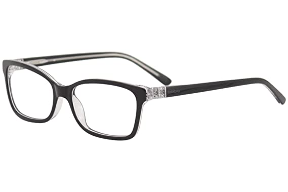 6590b2e9632 Eyeglasses bebe BB5085 BB 5085 Jet Crystal at Amazon Men s Clothing ...