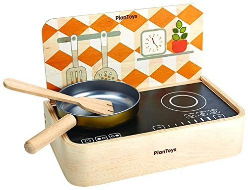 Plan Toys Kitchen Stove (PlanToys Portable Kitchen Bonus Pack Playhouse)