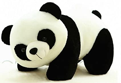 Funny Teddy Cute Panda Toy Gift Birthday Soft Stuffed Animal WhiteBlack