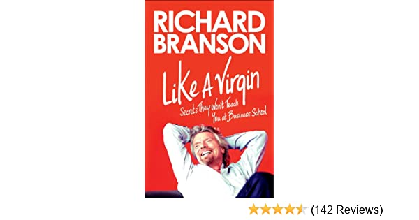 Richard Branson Book Like A Virgin
