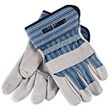 Wells Lamont 224-L Industry Group White Mule Leather Palm Gloves (Set of 12/EA)