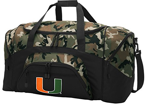 ag CAMO University of Miami Gym Bags Luggage (Miami Gym Bag)