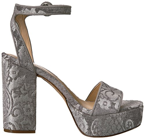 West grey light grey fabric Krewl Women's Nine light Fabric Sandal Heeled RA4qAWnU