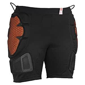 Red Total Impact Womens Shorts
