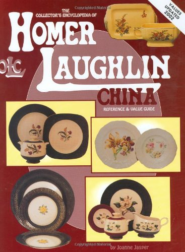 Collectors Encyclopedia Homer Laughlin China product image