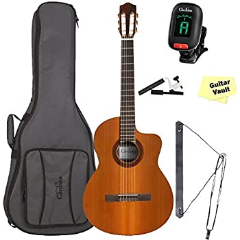 Acoustic Electric Guitars The Best Cordoba C5-ce Cutaway Acoustic Electric Classical Guitar Nylon Strings C5 Ce