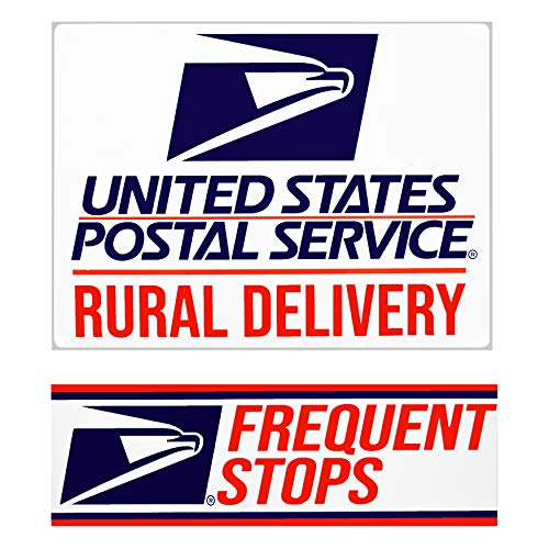 Rural Delivery Magnetic Sign for U.S. Mail, 9