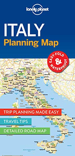 (Lonely Planet Italy Planning Map)