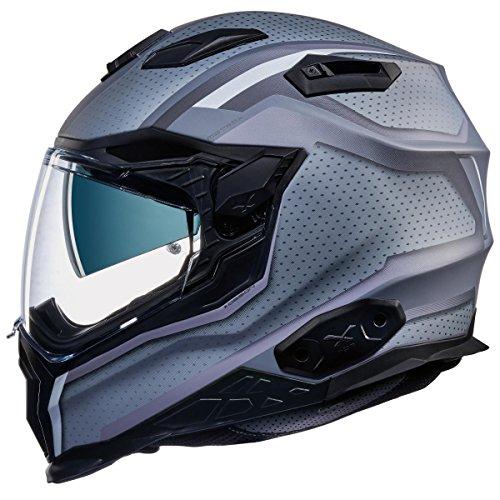 Nexx X.WST 2 XWST Motrox Black Titanium Full Face Face Touring Motorcycle Helmet (S)