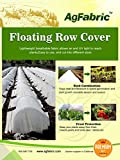 Agfabric - 1.5 Oz, 7x50ft, Row Cover, Seed Cover, Garden Fabric, Plant Protection Blanket