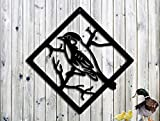 Adorable Bird - Metal Wall/Window Art - Metal Art - Gift