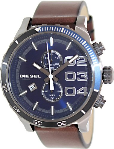 Diesel Watches Franchise 2.0 Mens Watch (Dark Brown/Gunmetal)