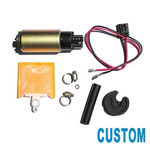 CUSTONEPARTS New Electric Intank Fuel Pump w/ Installation Kit For Multiple Models E8213 E2068