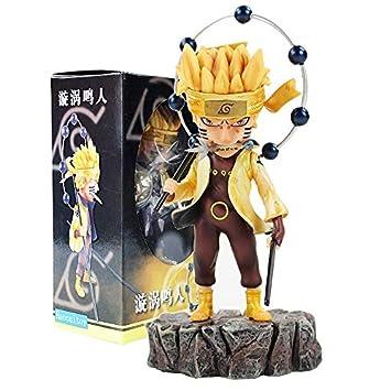 Amazon.com: Fallhuoz 2style Anime Naruto Uzumaki Six Path ...