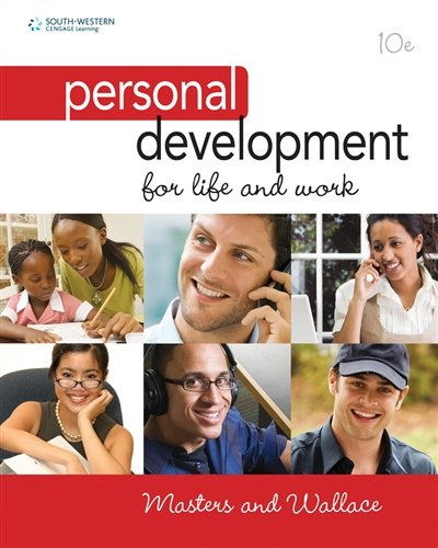 Personal Development for Life and Work by Cengage Learning