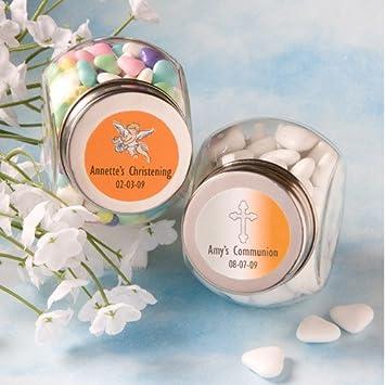 amazon com baptism mini candy jar favors health personal care