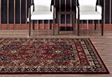 4338 Red 8 x 10 Area Rug Carpet Large New Review