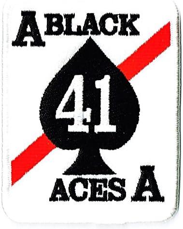 ミリタリーワッペン 米海軍航空部隊BLACK ACES