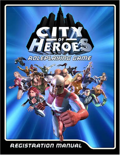 CoH RPG Registration Manual (Core Bk) (City of Heroes)