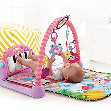 Fisher-Price Kick n Play Piano Gym, Pink