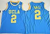 2017 UCLA Bruins Lonzo Ball 2 College Basketball Mens Jersey Blue L
