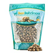 Amazon Lightning Deal 81% claimed: Peanut Butter Star Training Treats by Best Bully Sticks (2 Pound Value Pack)