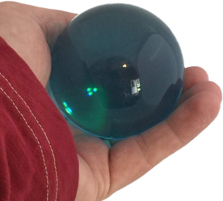 70mm Aqua Blue Acrylic Contact Juggling Ball