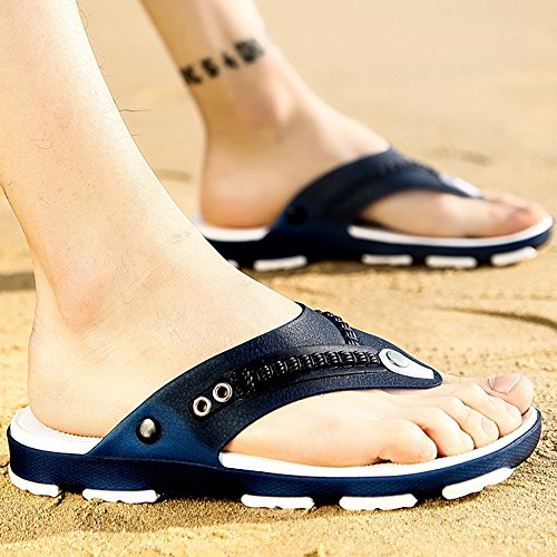 XIAOLIN Men's Slipper Non-slip Men's Korean Version Of The Summer Beach Shoes Men Wear Personalized Tide Slippers(Optional Size) ( Color : 02 , Size : EU41/UK7.5-8/CN42 ) 03