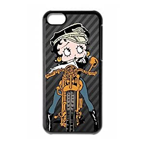 Betty Boop iPhone 5c Cell Phone Case Black 8You110478