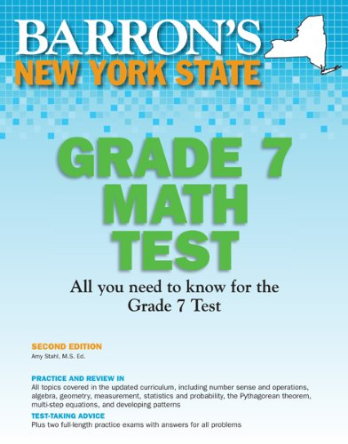 new york test prep grade 7 - 2