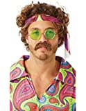 Rubie's Official Adult's 70's Moustache Brown - One Size