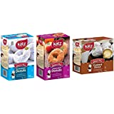 Katz Gluten Free Donuts Variety Pack 1 Powdered, 1 Cinnamon, 1 Custard Donuts