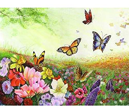 Jigsaw Puzzles 1000 Piece Wooden Puzzle DIY Butterfly Animals Work Game Toy Home Decoration Art ()