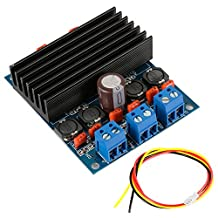 XCSOURCE TDA7492 Amplifier Board 2x50W Class D Digital Power + Cooler AMP Board TE398