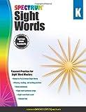 Spectrum Sight Words, Grade K, , 1483811883