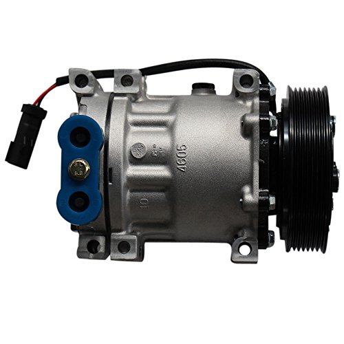 A/C Compressor & AC Clutch for Dodge Dakota Durango Ram 1500 2500 3500