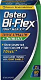 Osteo Bi-Flex, Triple Strength + Turmeric, 80 Tablets, Joint Support Supplements with Glucosamine HCI and Turmeric Curcumin, Joint Supplement for Men and Women For Sale