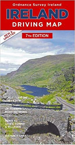 Ireland Driving Map (Irish Maps, Atlases & Guides): Ordnance Survey on