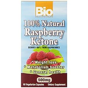 Well-Being-Matters 519ZHMdAgmL._SS300_ Bio Nutrition 100% Natural Raspberry Ketone Vegi-Caps, 500 mg, 60 Count