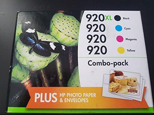 HP 920XL High Yield Black/ 920 Standard CMY Multi-pack