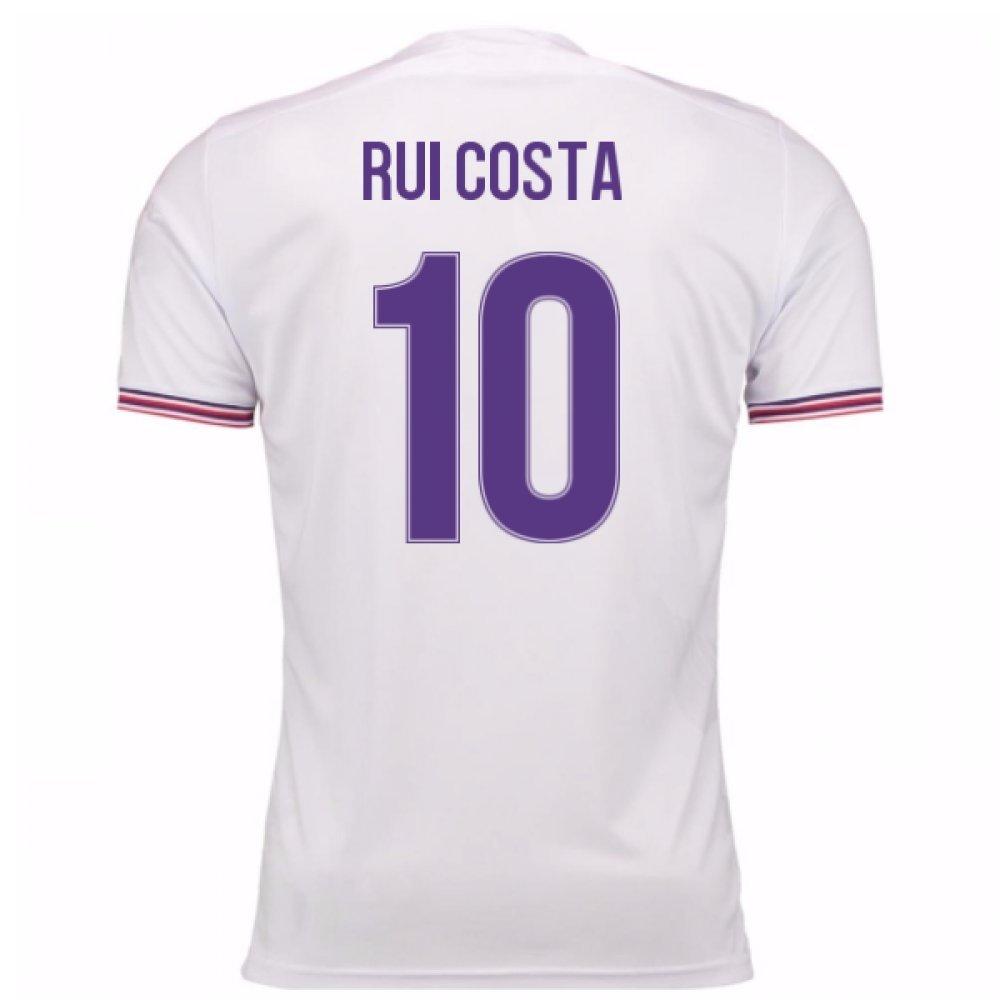 2017-18 Fiorentina Away Shirt (Rui Costa 10) Kids B077PVXBNVWhite Medium Boys
