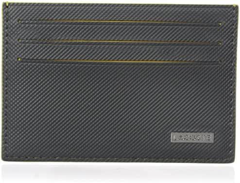 Lacoste Men's Edward Credit Card Holder